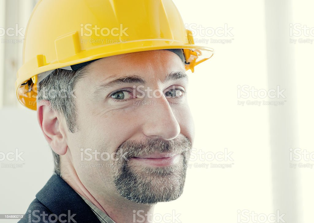 Engineer, Architect, Construction Manager Series royalty-free stock photo