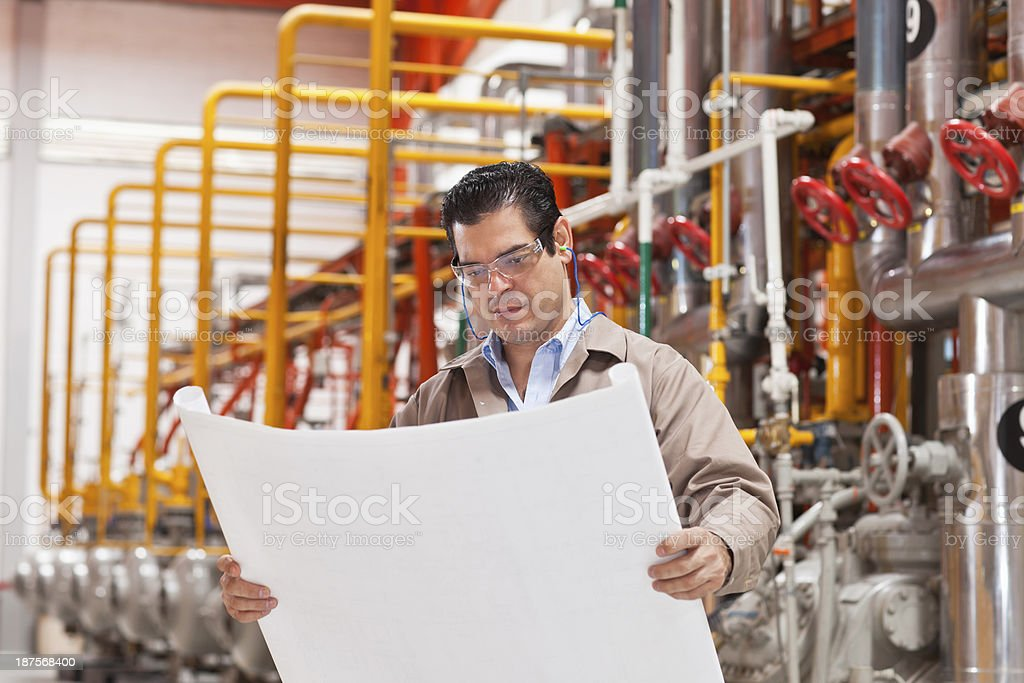 Engineer at Industry royalty-free stock photo
