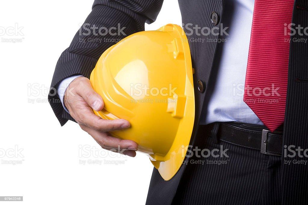 engineer helmet royalty-free stock photo