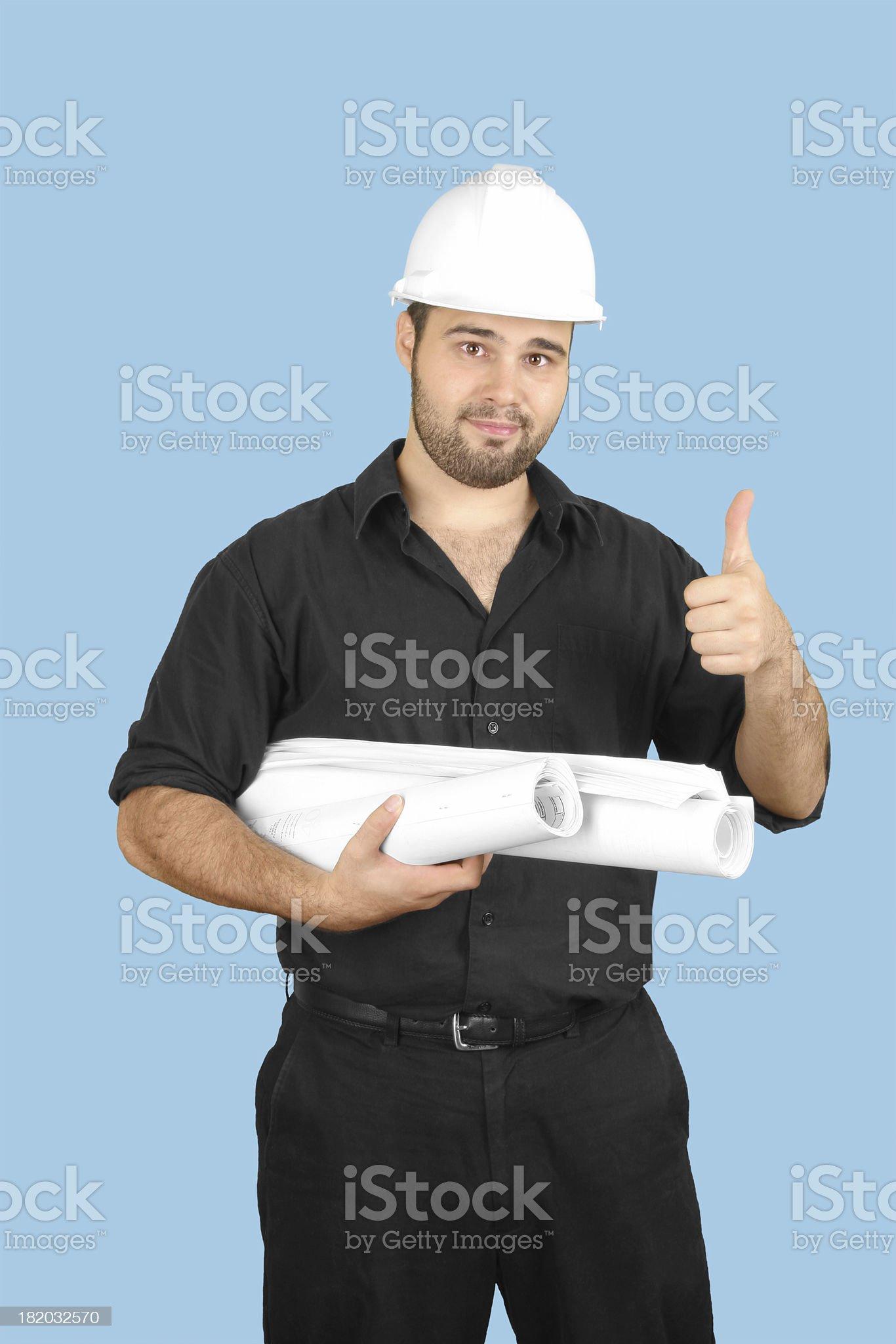 Engineer - OK royalty-free stock photo