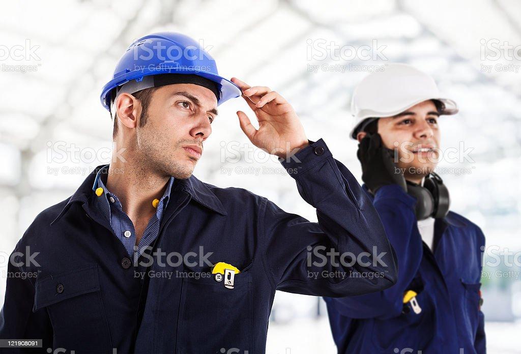 Engineer portrait royalty-free stock photo