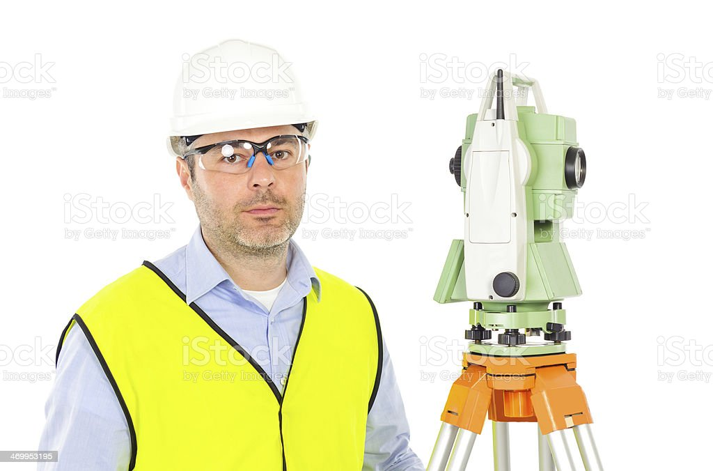 engineer portrait royalty-free stock photo