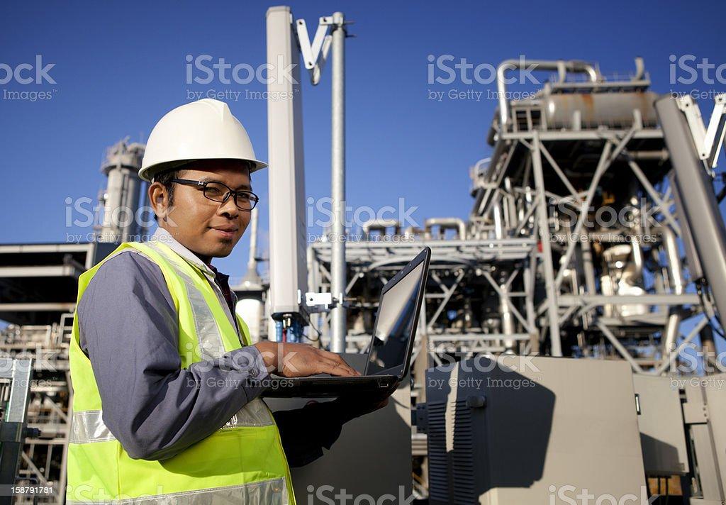 Ingenieur Kraft und Energie Lizenzfreies stock-foto