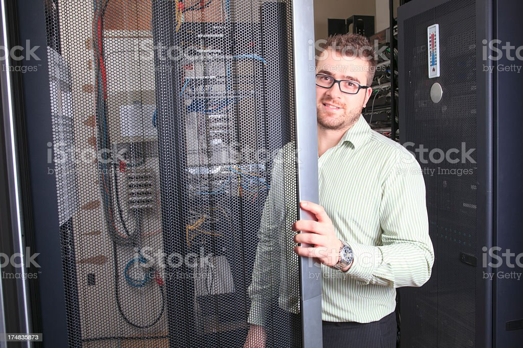 IT Engineer - Server Job royalty-free stock photo