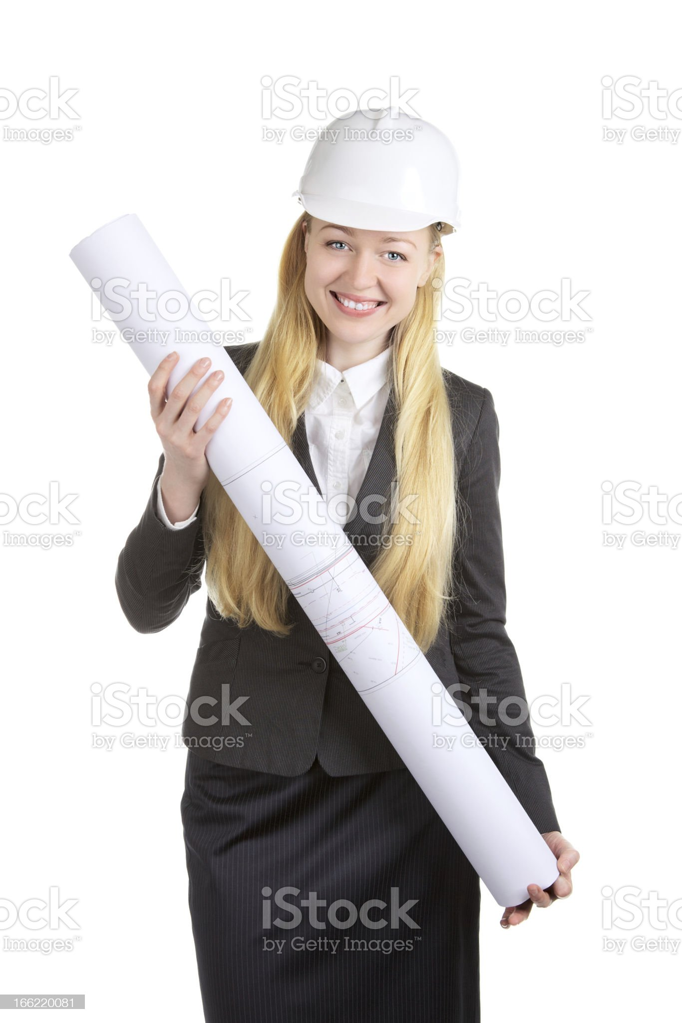 Engineer Woman royalty-free stock photo