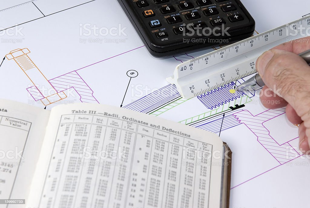 Engineering Design royalty-free stock photo