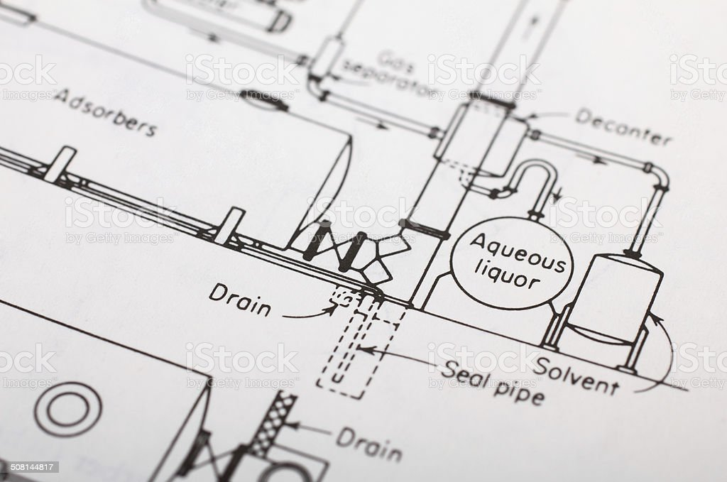 Engineering design stock photo