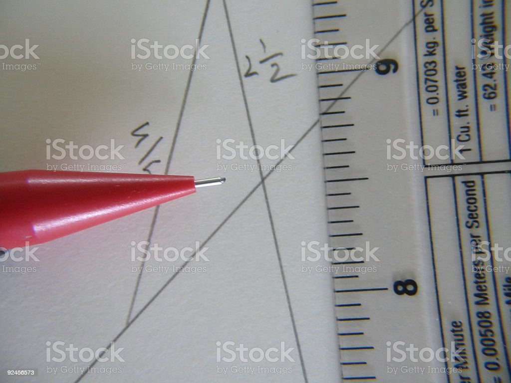 Engineering Drawing royalty-free stock photo