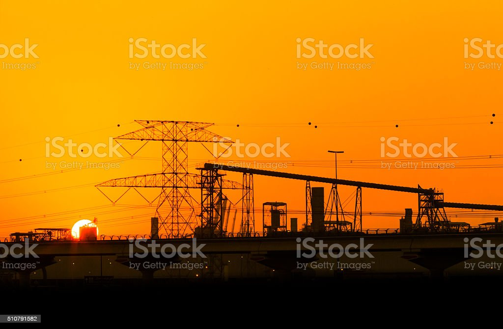 Engineering, Growth, Development and Nature stock photo