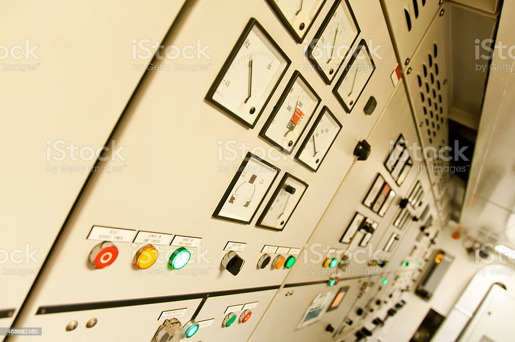 Engineering Interior stock photo