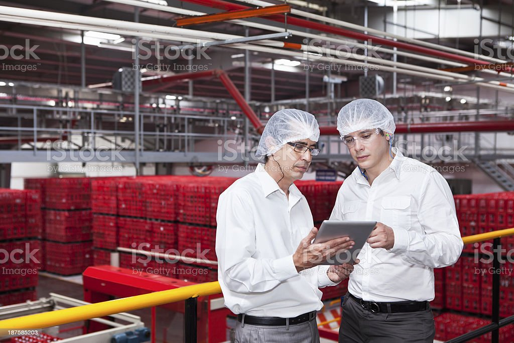 Engineers at Industry royalty-free stock photo