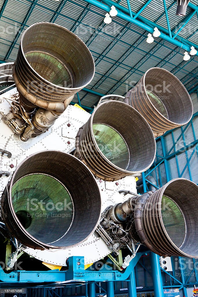 Engines stock photo