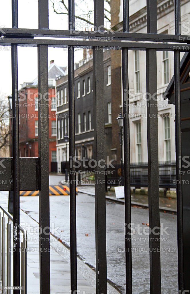 England: 10 Downing Street stock photo