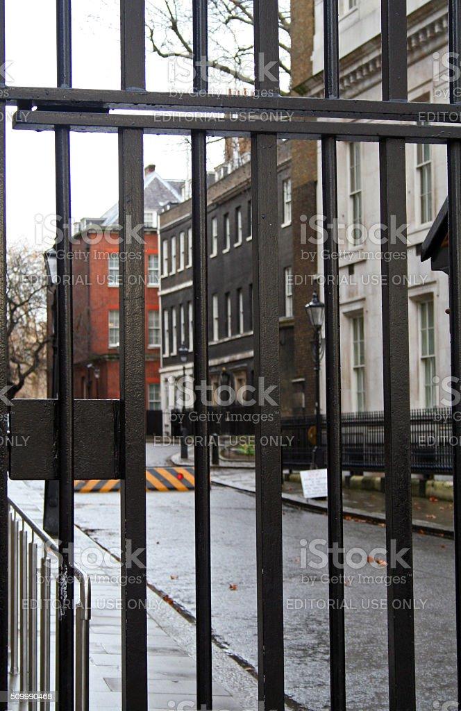 England: 10 Downing Street stock photo