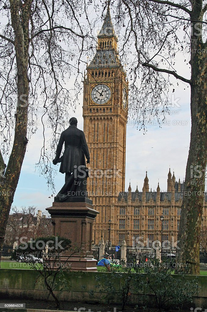 England: Big Ben in London stock photo