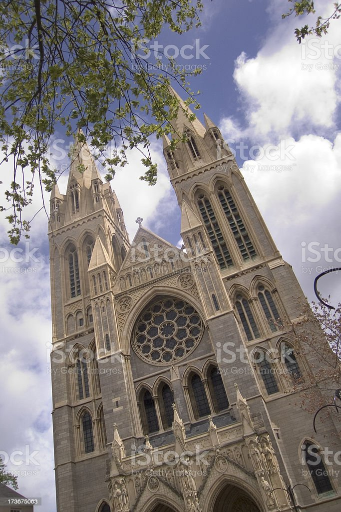 England, Cornwall, Truro Cathedral stock photo