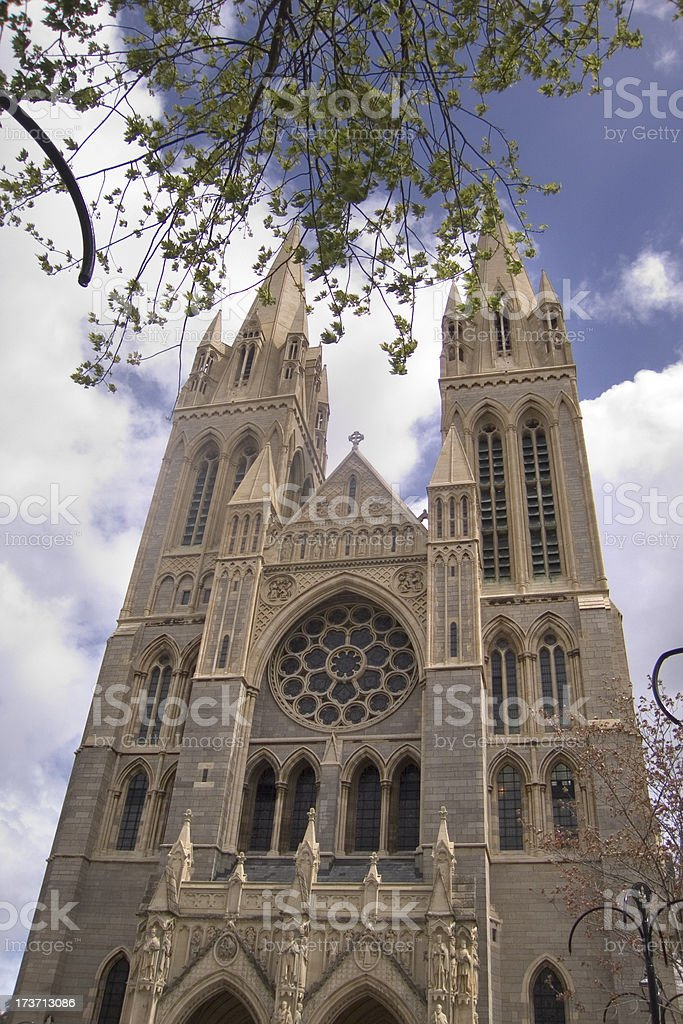 England, Cornwall, Truro Cathedral royalty-free stock photo