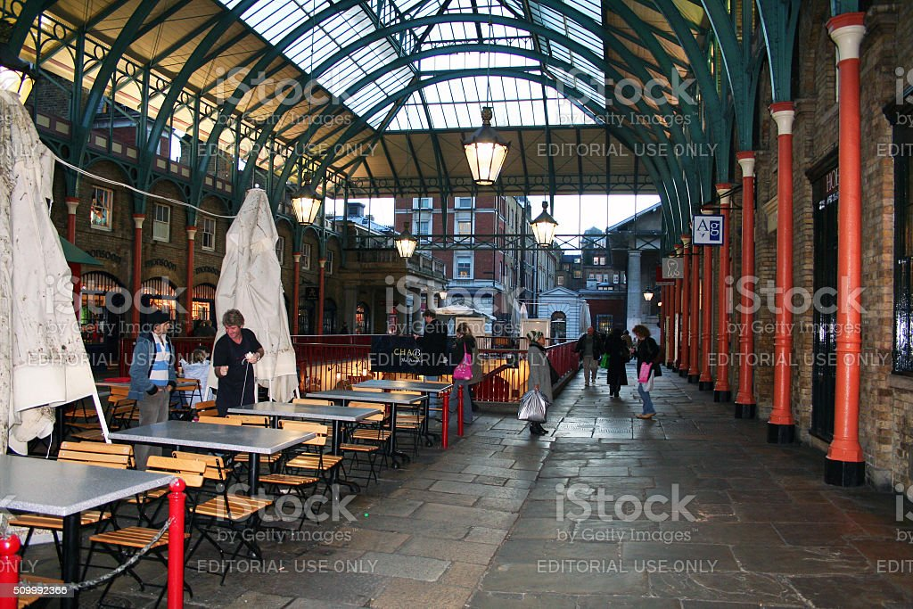 England: Covent Garden Market stock photo