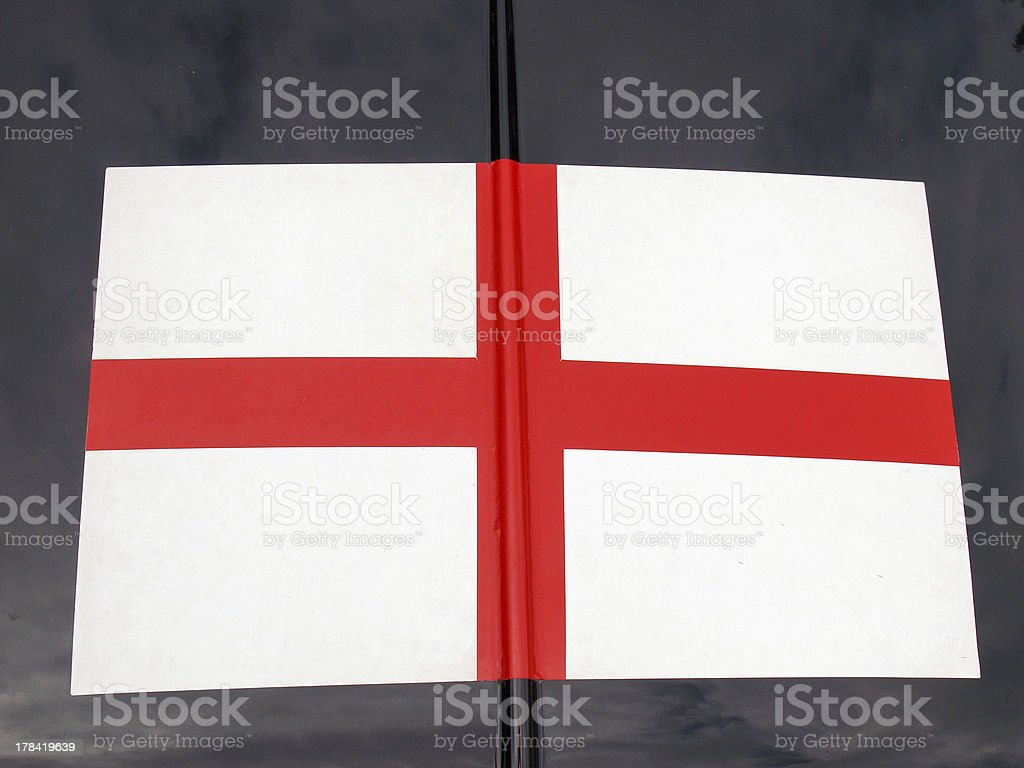 England flag royalty-free stock photo