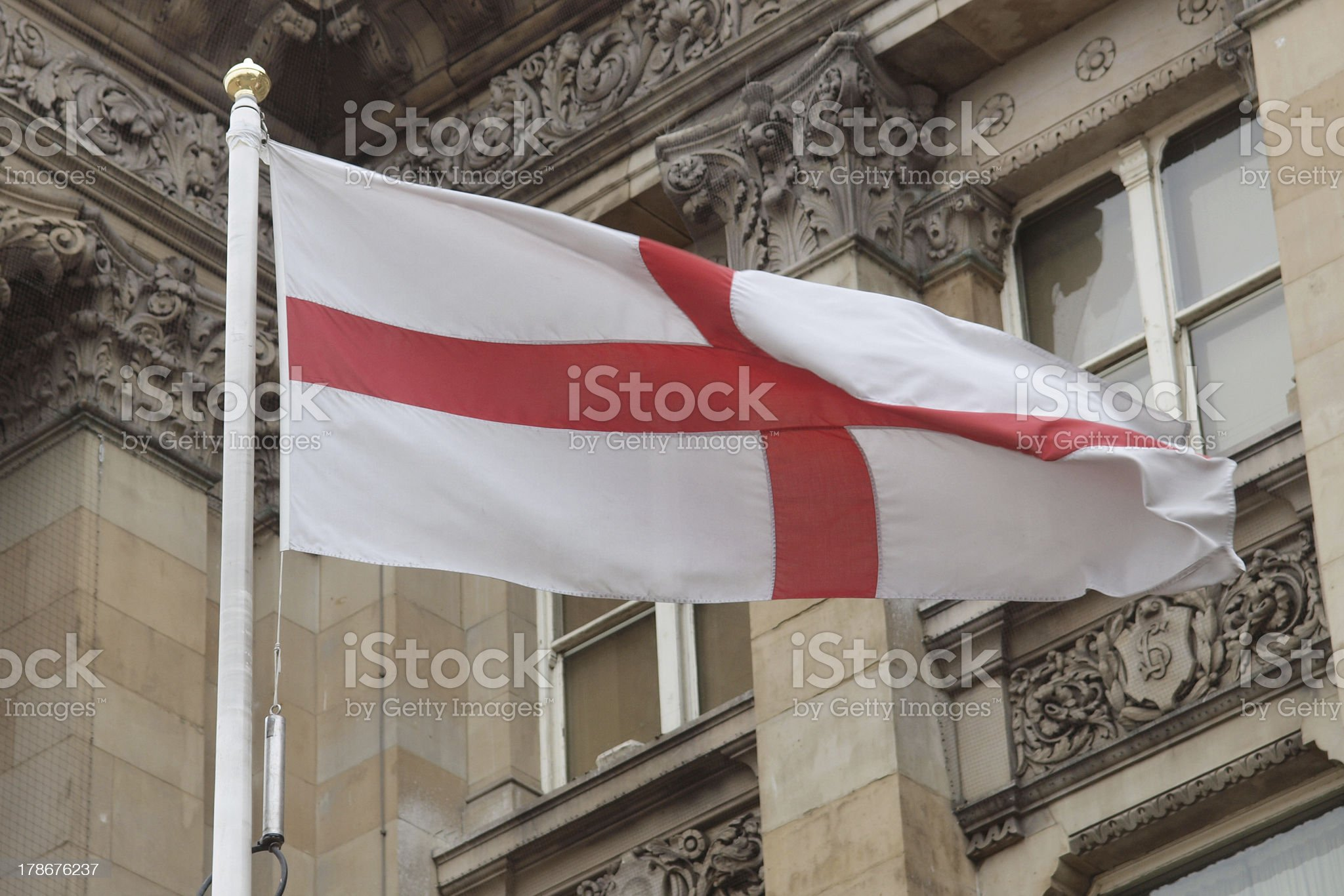 England flag royalty-free stock photo