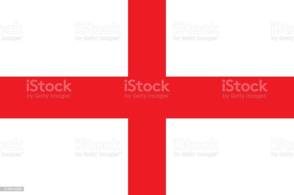England flag stock photo