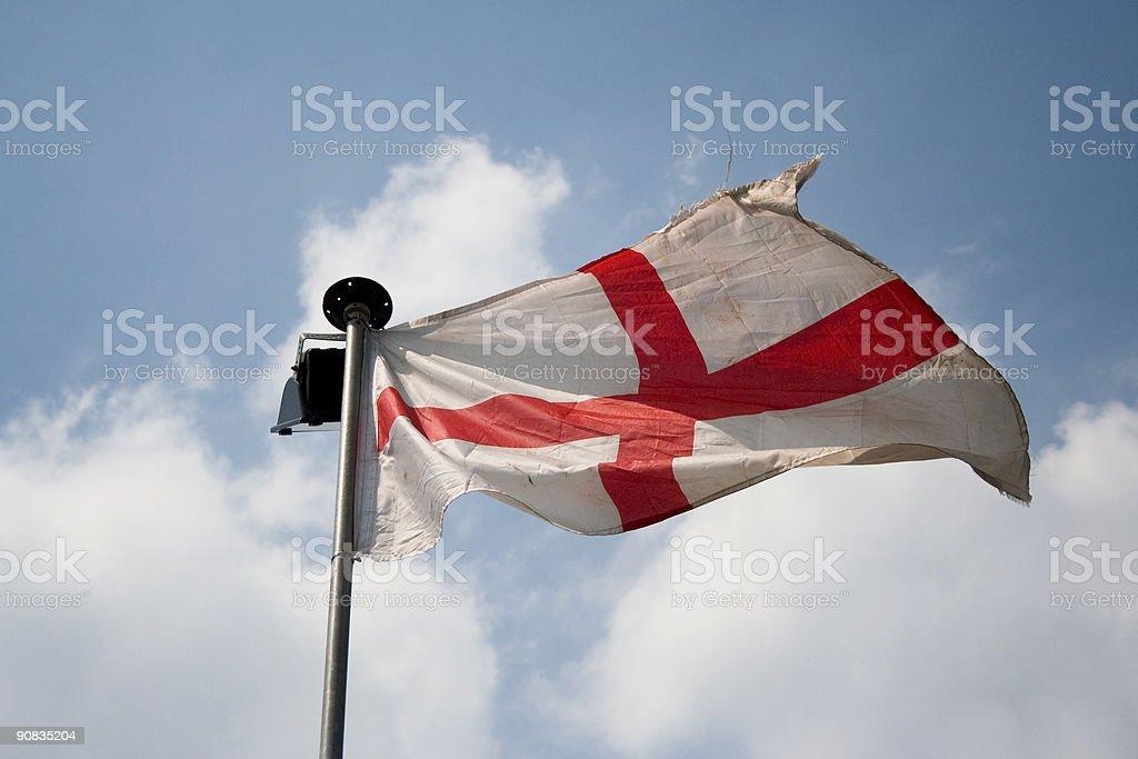 England Flag - St George 001 stock photo
