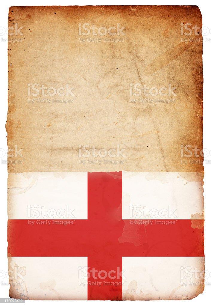 England Flag XXXL royalty-free stock photo