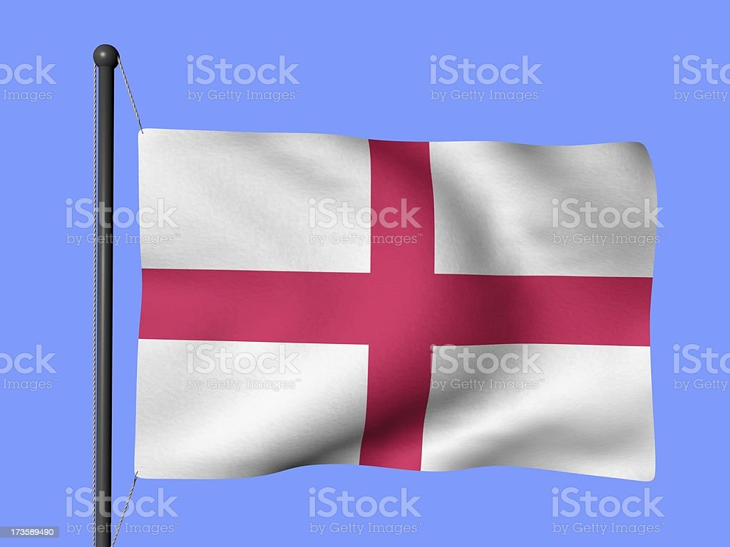 England - flags of the world royalty-free stock photo