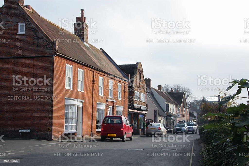 England: Horning stock photo