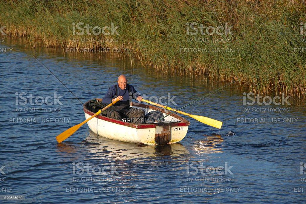 England: Norfolk Broads stock photo