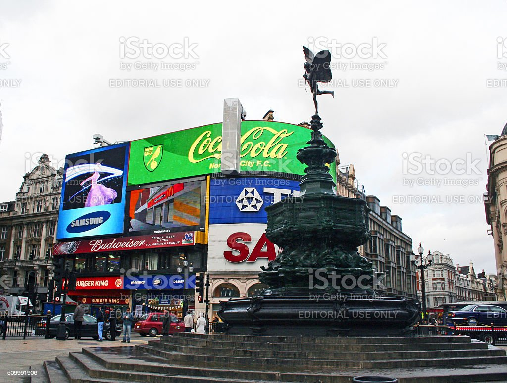 England: Piccadilly Circus stock photo