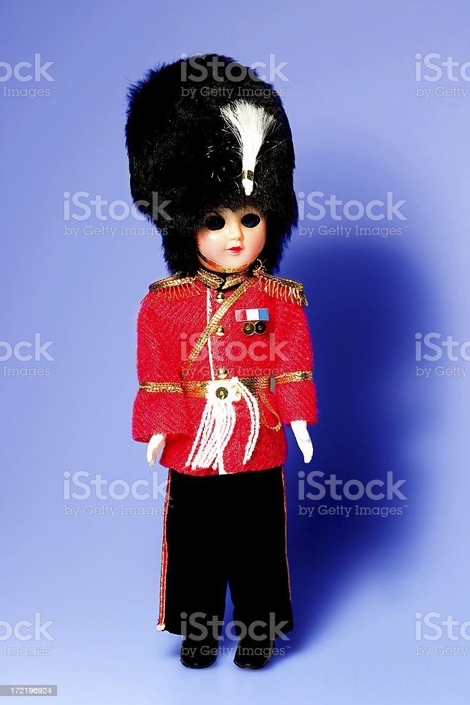 England Royal Guard royalty-free stock photo