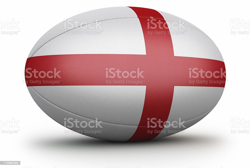 England Rugby Ball stock photo