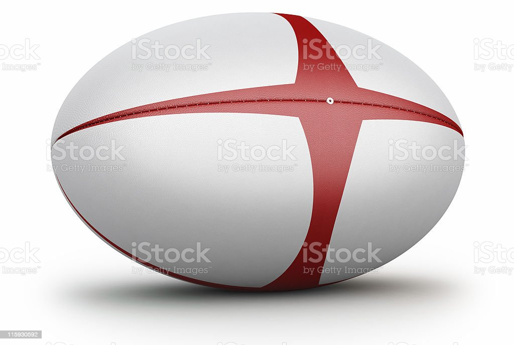 England Rugby royalty-free stock photo