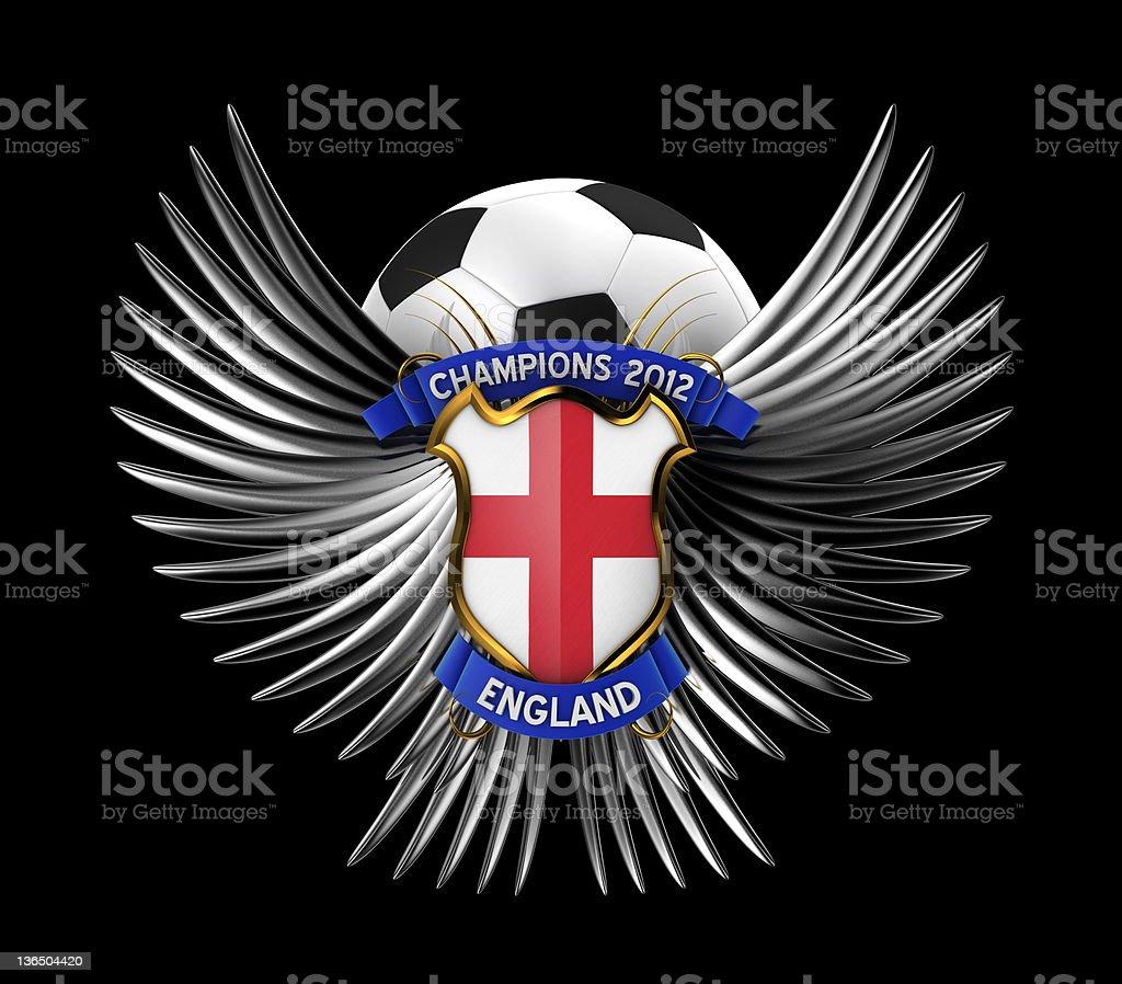 England Soccer Ball royalty-free stock photo