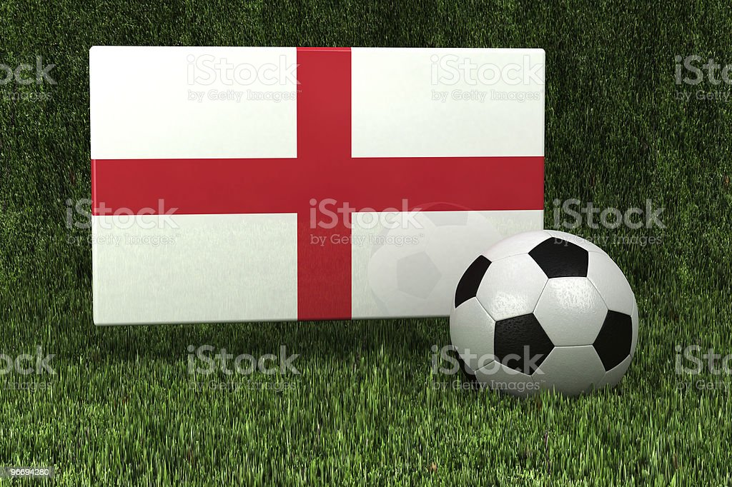 England Soccer royalty-free stock photo