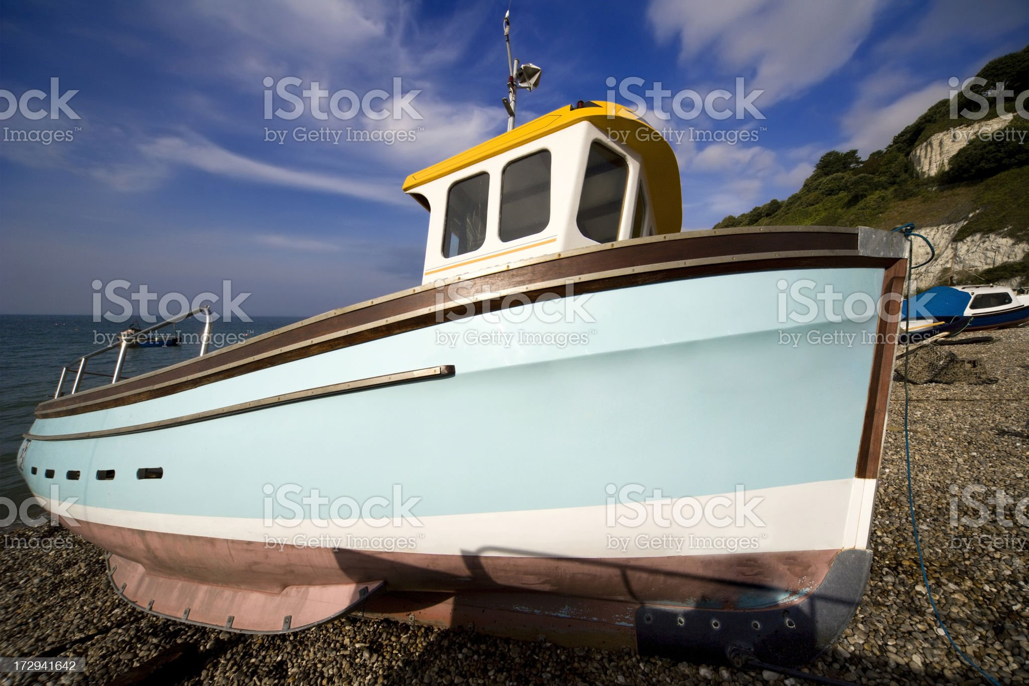 england south devon coastal holiday resort village of beer royalty-free stock photo