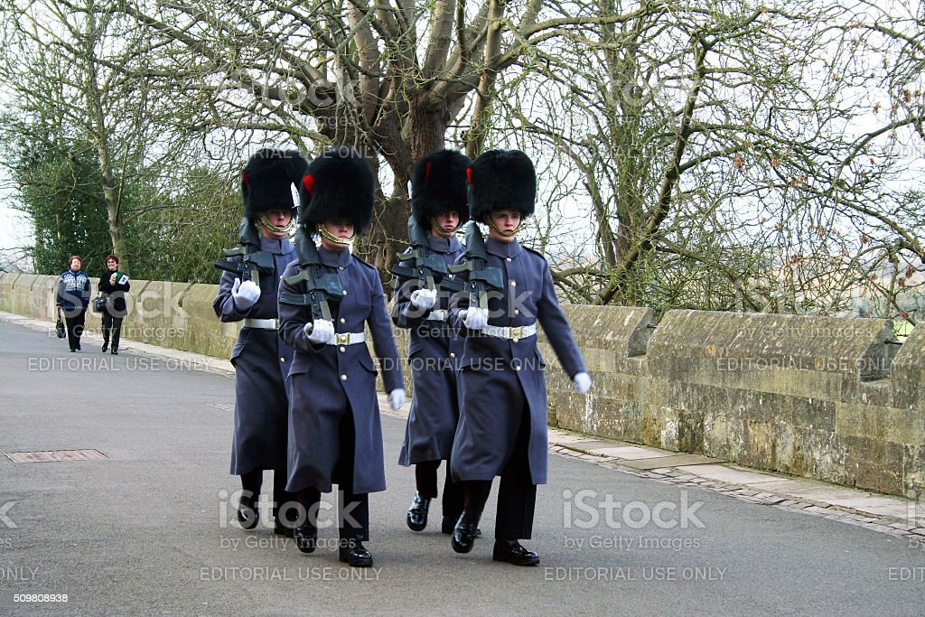 England: Windsor Castle stock photo