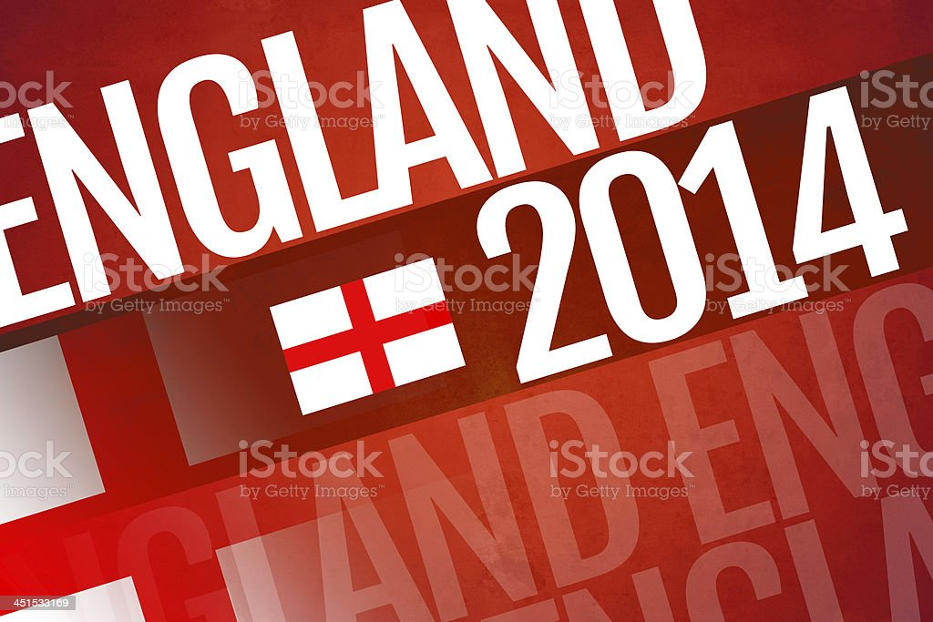 England written on abstract background stock photo