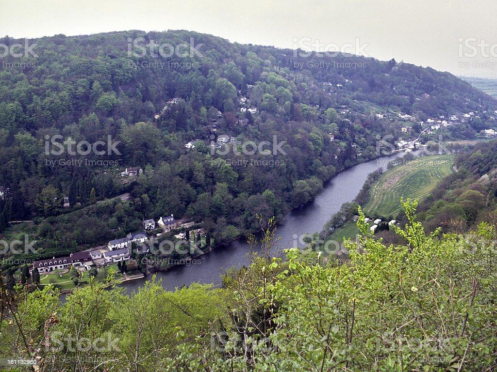 England, Wye Valley, Symonds Yat stock photo