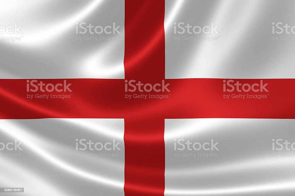 England's Flag stock photo