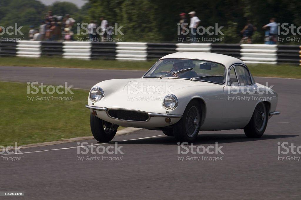 English 60s Sports Car royalty-free stock photo