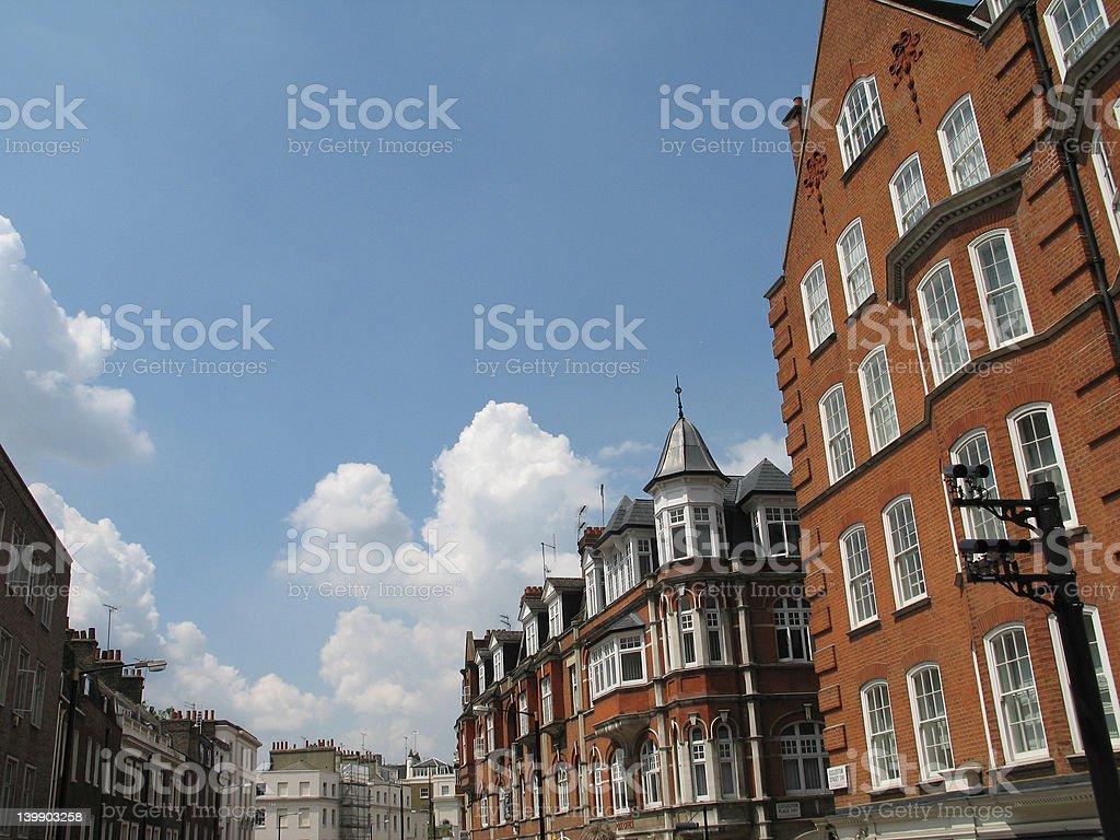 english architecture stock photo