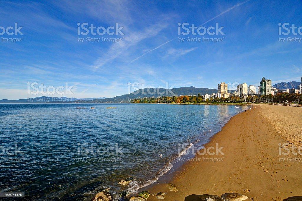 English Bay stock photo