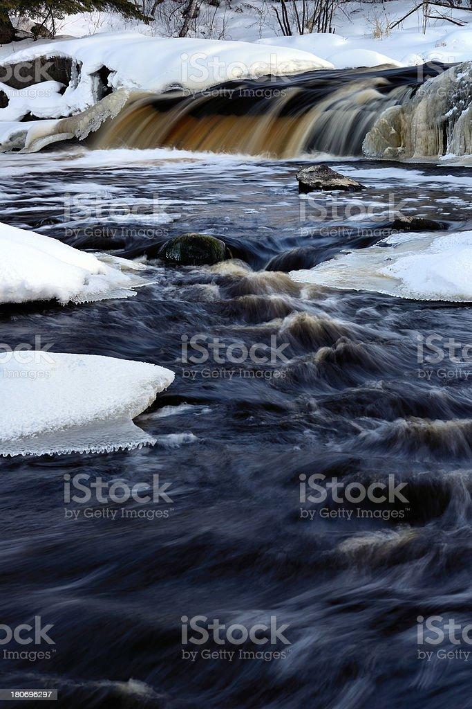 English Brook Falls royalty-free stock photo