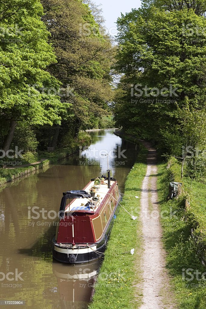 English Canal royalty-free stock photo