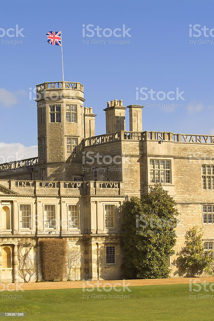 English castle royalty-free stock photo