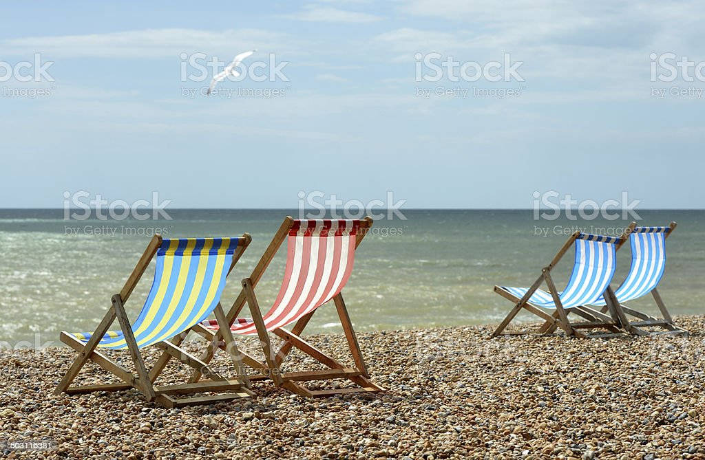 English Channel stock photo