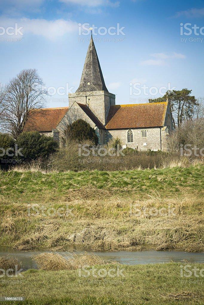 English church stock photo
