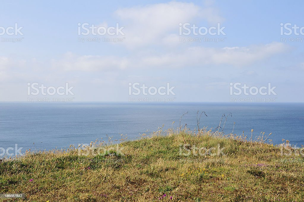 English coastline. royalty-free stock photo